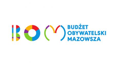 Logotyp Budżetu Obywatelskiego Mazowsza