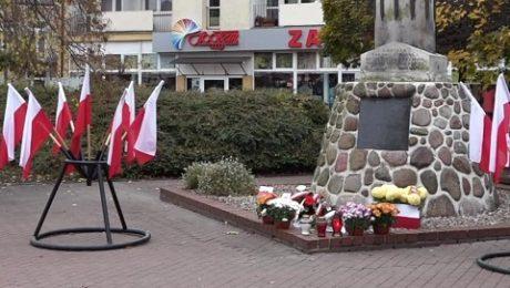 Plac Wolności w Grodzisku Mazowieckim wDniu Niepodległości