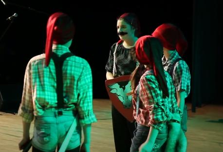 Występ grupy dzieci