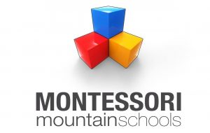 Logo szkoły pracującej metodą nauczania Montessori