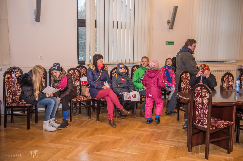 Spotkanie na sali konfernecyjnej w Urzędzie miasta