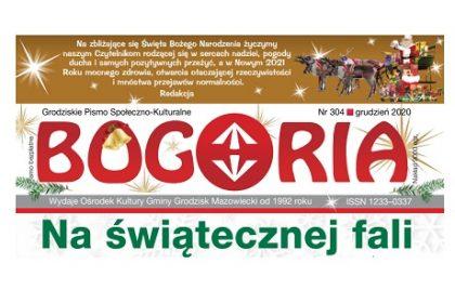 Gazeta Bogoria wycinek z okładki