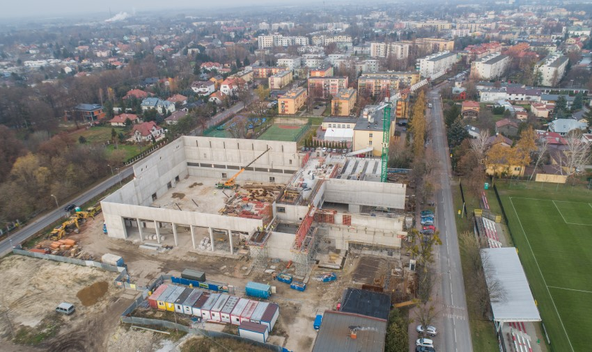 Budowa hali sportowo-widowiskowej