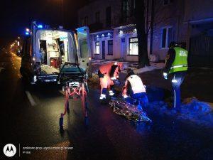 Strażnicy Miejscy udzielili pierwszej pomocy