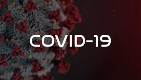 covid-19 wirus w powiększeniu