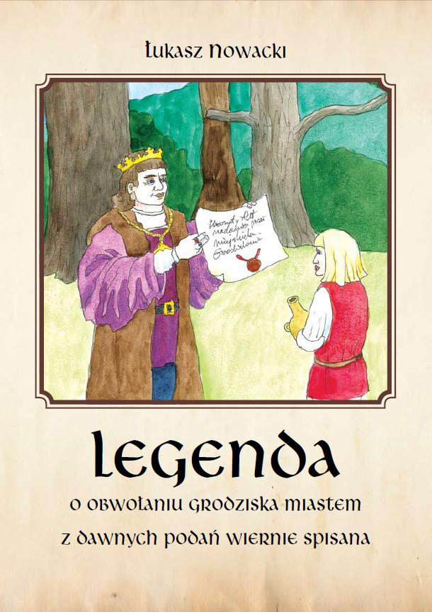 Strona tytułowa Legendy o Grodzisku