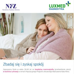 Mammografia @ ul. Kilińskiego 8a