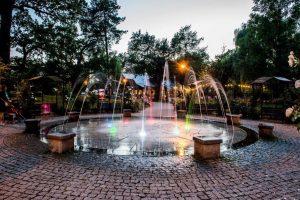 Fontanna w Parku Skarbków
