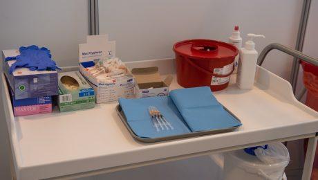 strzykawki ze szczepionką
