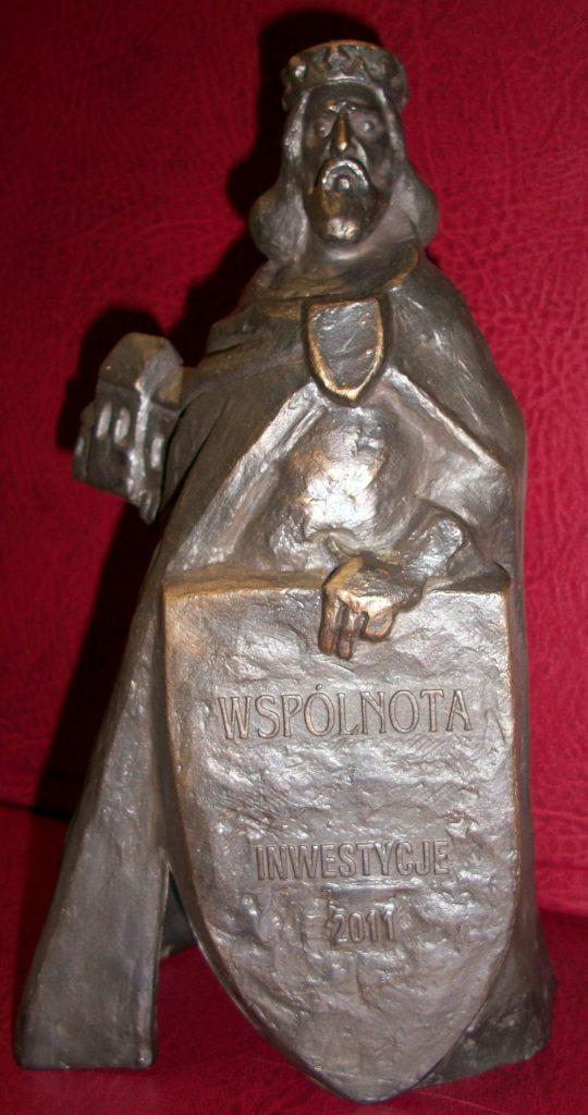 Statuetka za inwestycje 2011