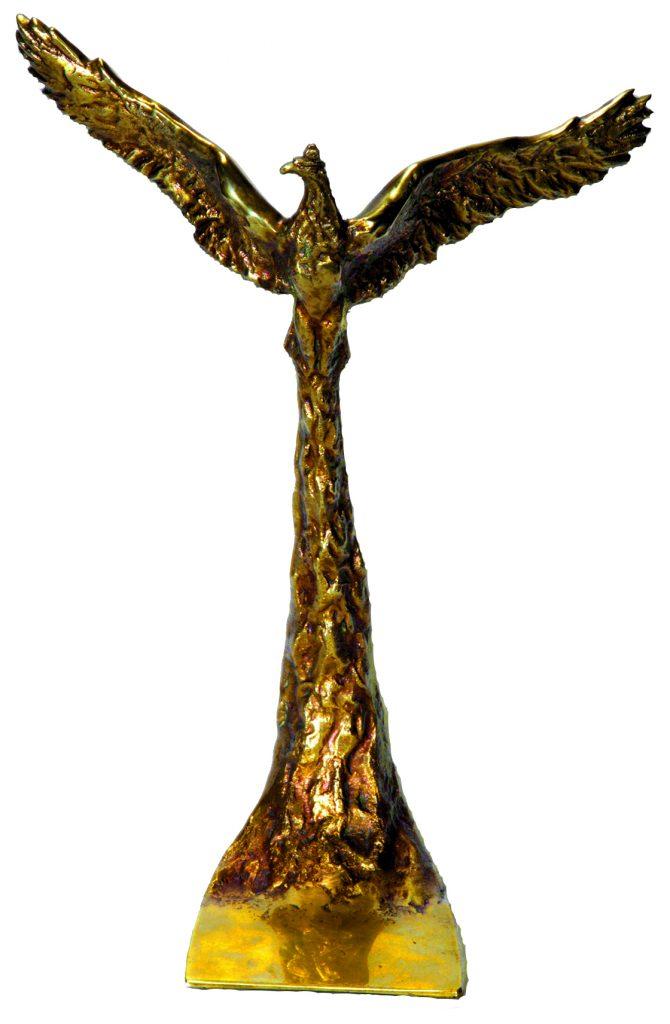 Statuetka Orzeł za Mazowiecka Gmina Roku