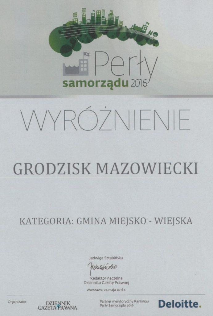 Perły Samorządu 2016