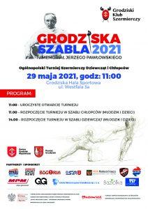 Grodziska Szabla 2021 IV Memoriał Jerzego Pawłowskiego