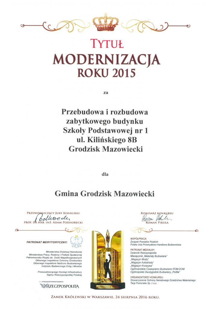 Modernizacja Roku 2016