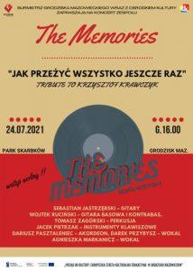 Koncert zespołu The Memories - tribute to Krzysztof Krawczyk
