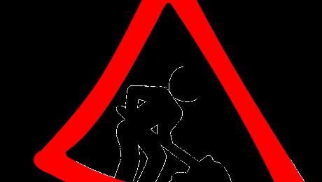 Znak o pracach drogowych