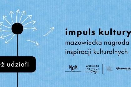 Plakat konkursu Impuls Kultury