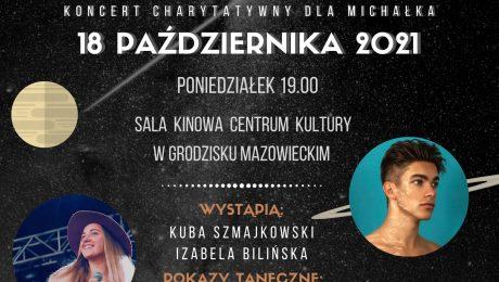 Plakat charytatywny dla Michałka