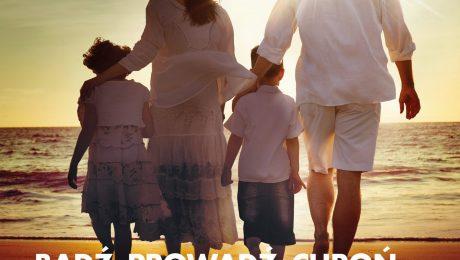 Plakat VII marszu rodziny